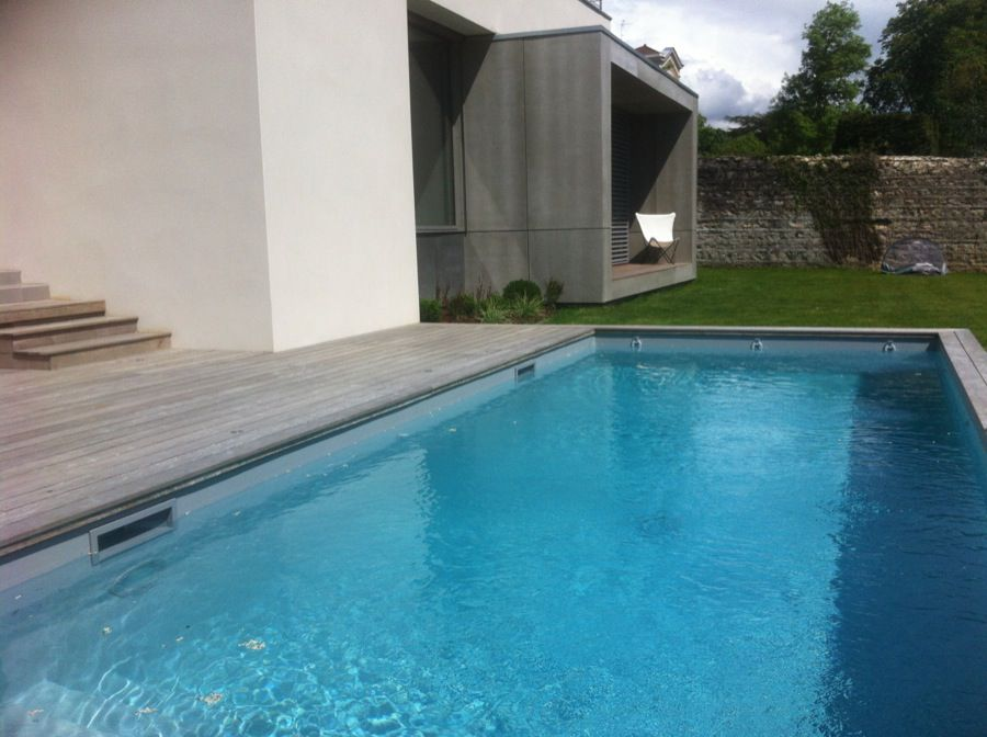 Plan d 39 eau designer piscines terrasses bois for Piscine 8x3