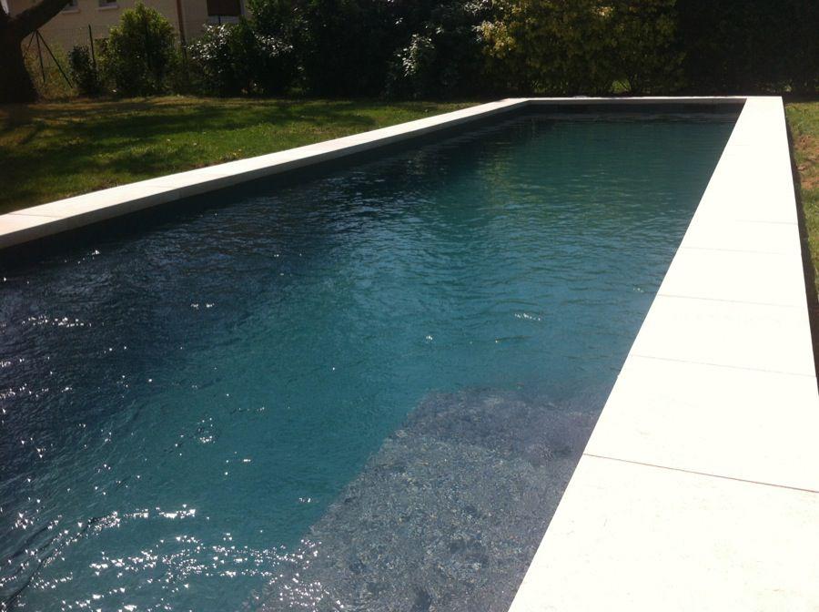 Plan d 39 eau designer piscines terrasses bois for Piscine pvc arme gris fonce